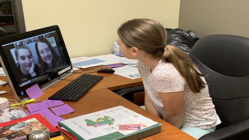 کلاس آموزش آنلاین زبان برای کودکان